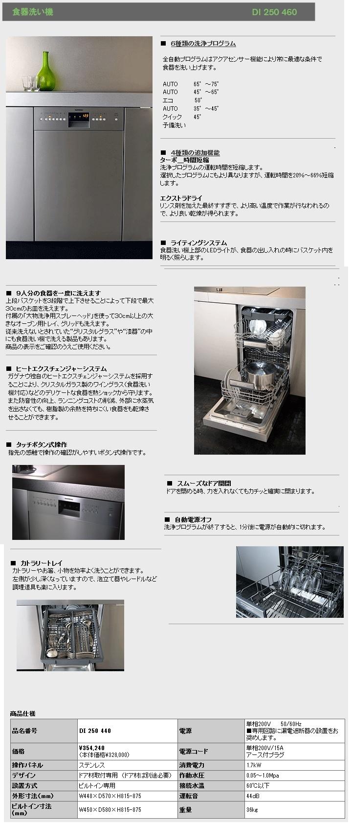 ガゲナウ 食器洗い機 商品説明